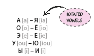 iotated vowels